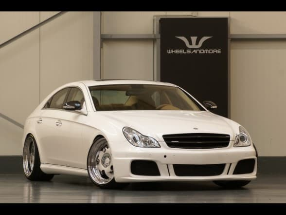 Mercedes CLS 55 AMG Wheelsandmore