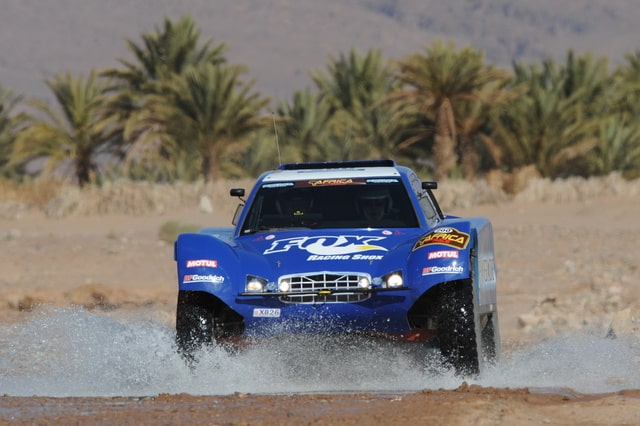 Schlesser remporte l'Africa Eco Race
