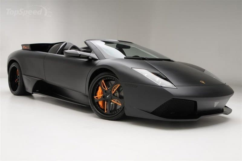 Lamborghini Murcielago Roadster LP650-4 Black Edition