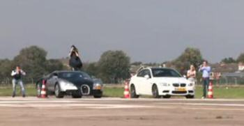 Top chrono : Bugatti Veyron vs BMW M3 E92
