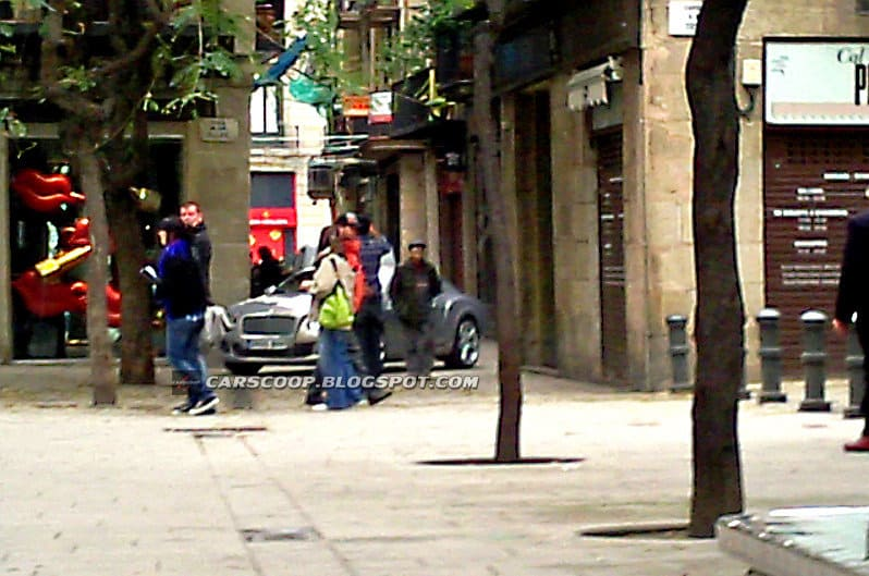 Spyshots Bentley Continental GT 2011