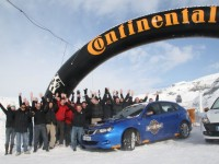 Continental domine la neige sur le Conti Winter Tour 2010