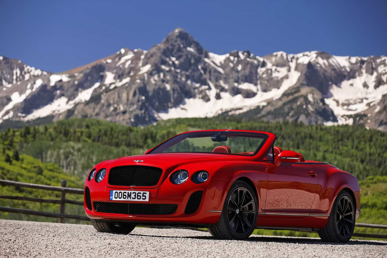 La Bentley Continental Supersports Cabriolet visite le Colorado