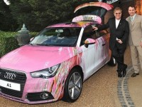 Damien Hirst et son Audi A1 collectent des fonds !