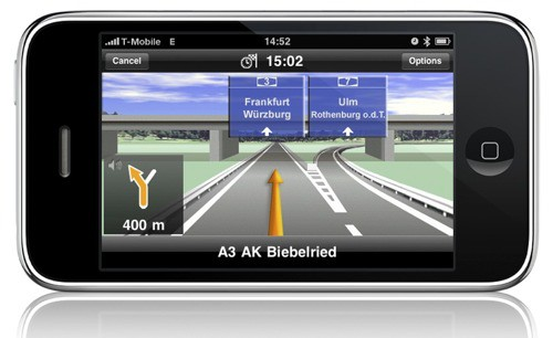 GPS iPhone : Navigon France et Europe en promo !