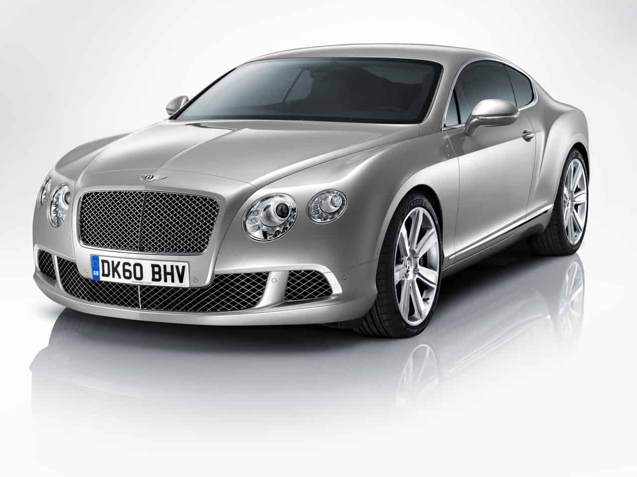 Bentley Continental GT : nouvelle tenue et un V8 en option pour 2011