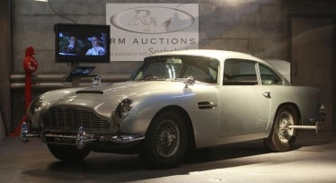 aston martin DB5 1964 - james bond 007 vente aux encheres- specialist auto-1