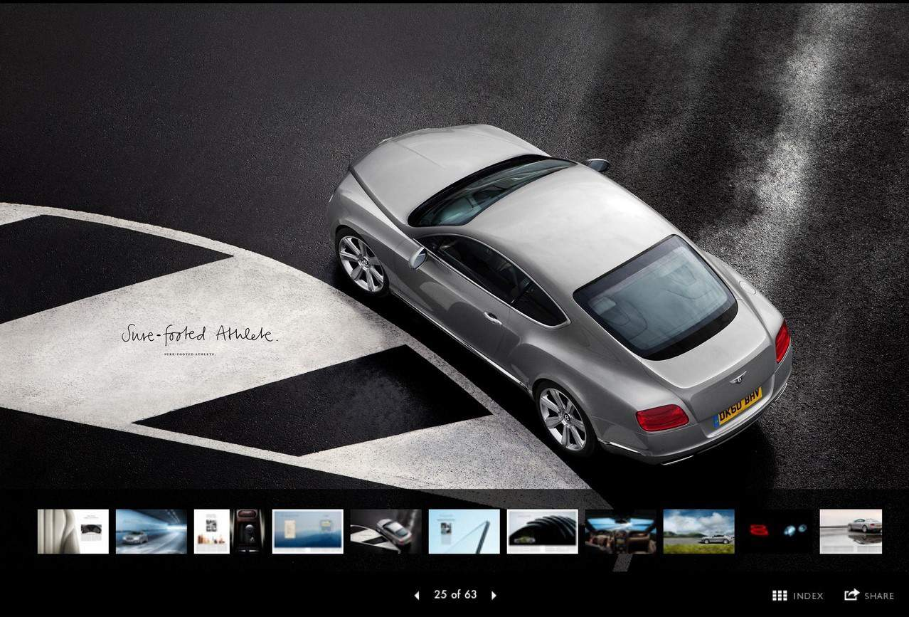 iPad : Jaguar et Bentley proposent leur application sur la tablette