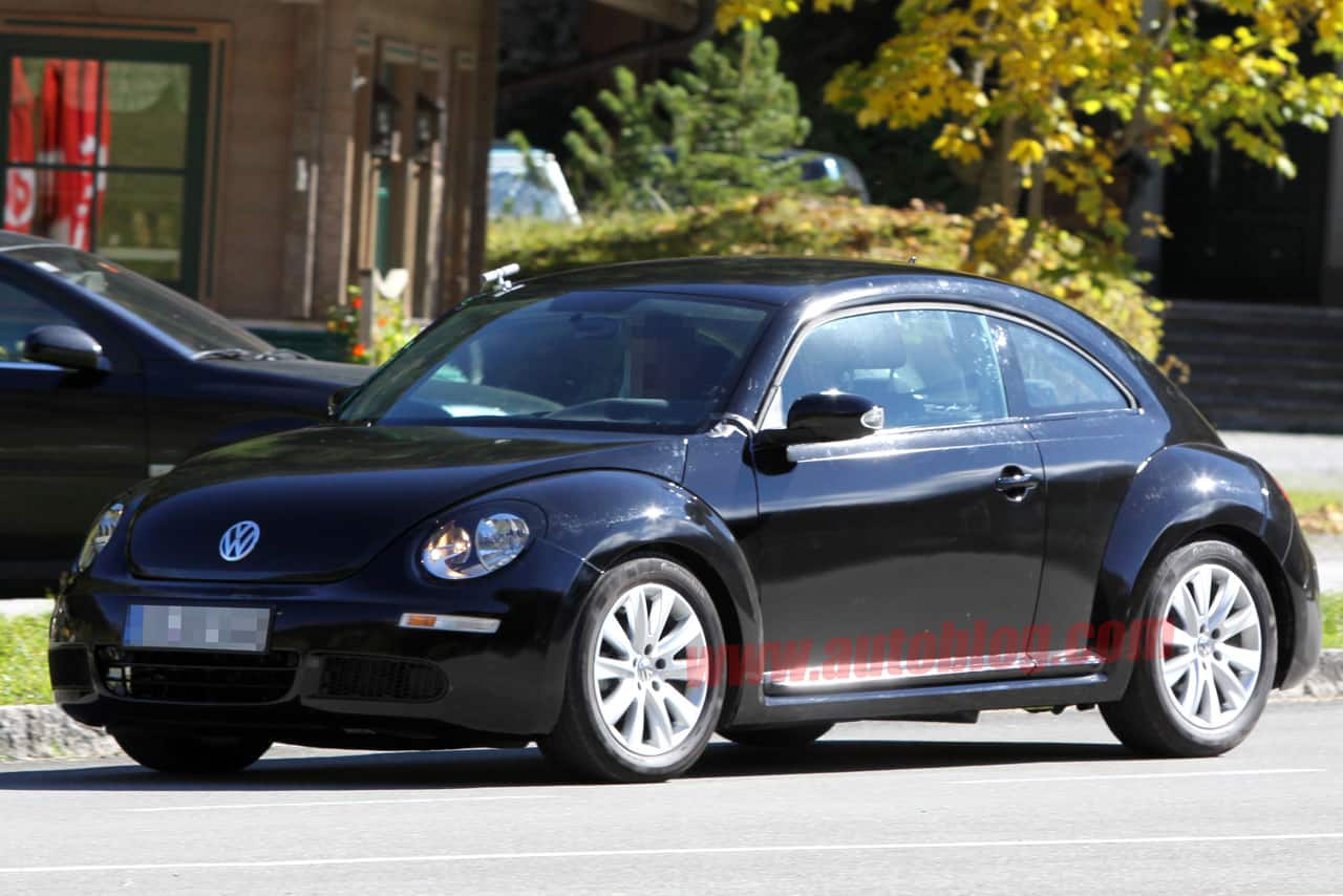 spyshots premi res photos de la nouvelle volkswagen new beetle. Black Bedroom Furniture Sets. Home Design Ideas