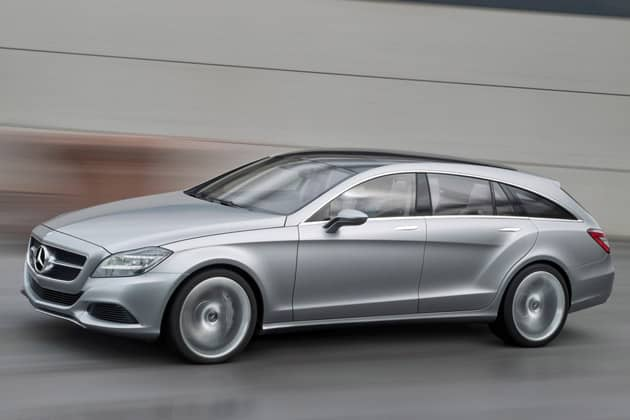 Mercedes confirme la production du CLS Shooting Brake 2012