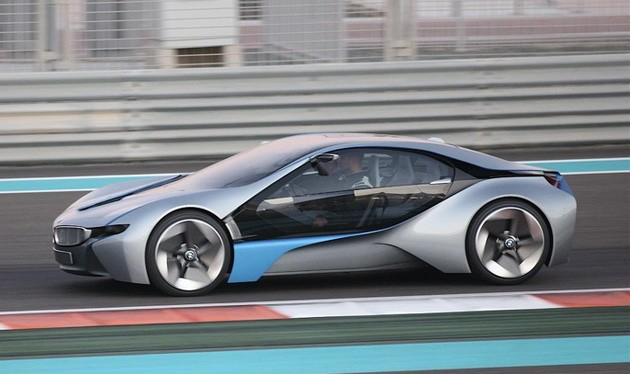 Spyshots : la BMW Vision EfficientDynamics se rapproche de la production ?