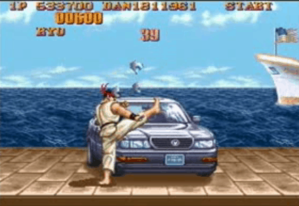 Vidéo Bonus Stage : Street Fighters II
