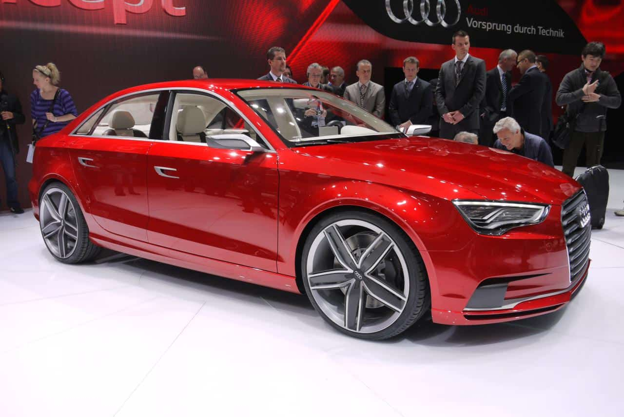 Genève 2011 : le concept Audi A3 Sedan en photos