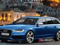 Photoshop : l'Audi RS6 Avant prend forme avec Wild Speed