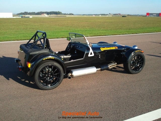 Conti Safety Days : Romain dompte la Caterham