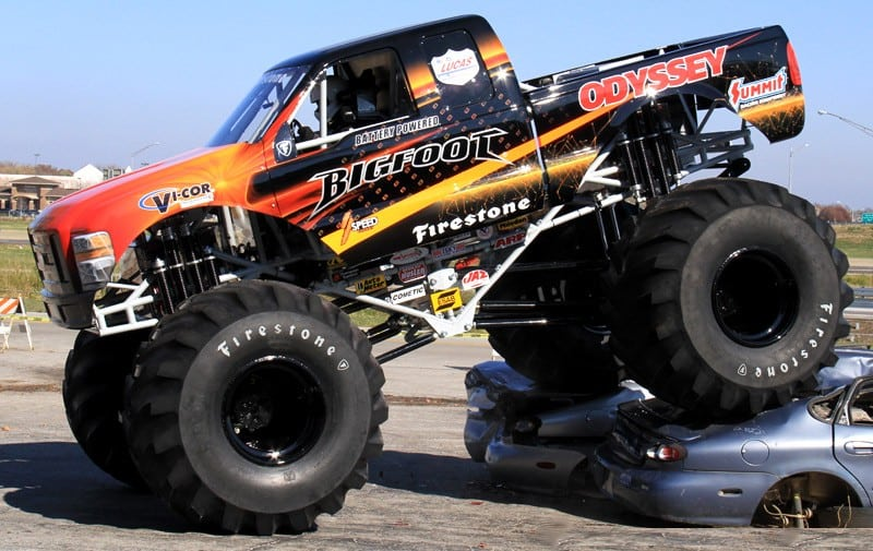 Le Monster Truck écolo