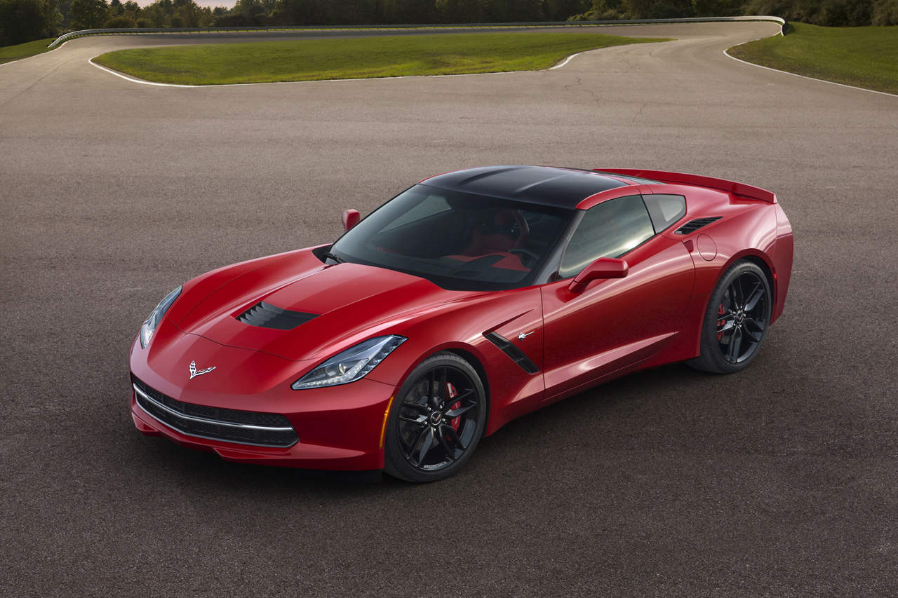 Detroit 2013 : renaissance de la Corvette Stingray