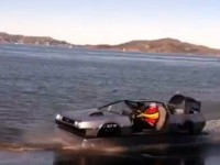 La DeLorean hovercraft de retour