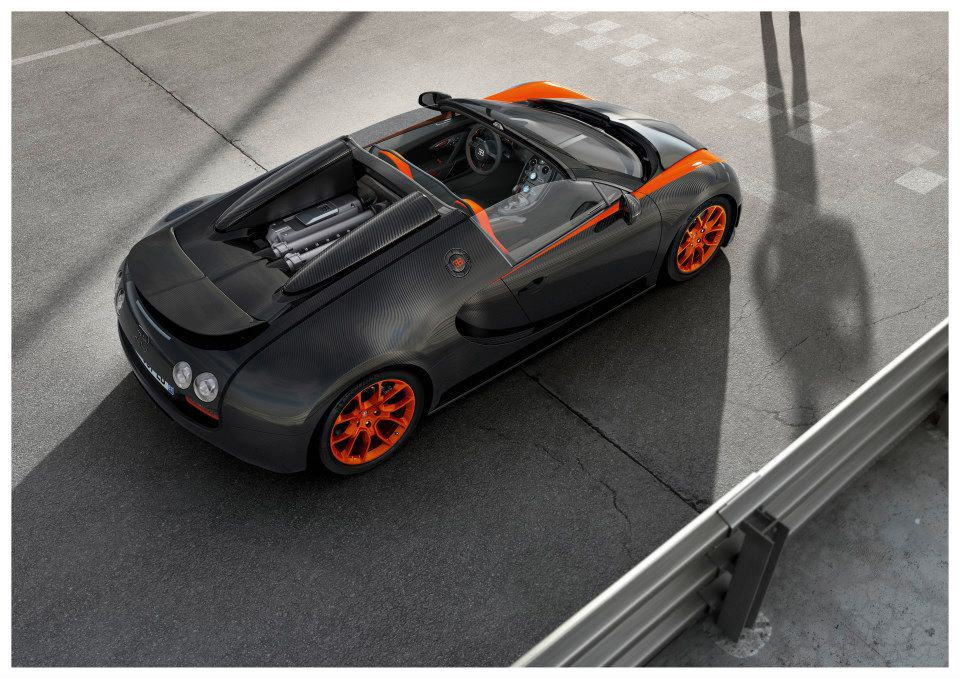 Photos : Bugatti Veyron Grand Sport Vitesse WRC Edition
