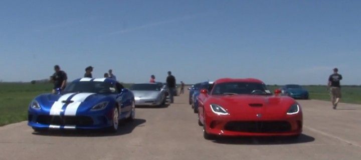 Duel : deux Dodge Viper SRT 2013 sur les starting-blocks