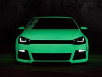 VW Golf VII Light-Tron : Hulk de nuit