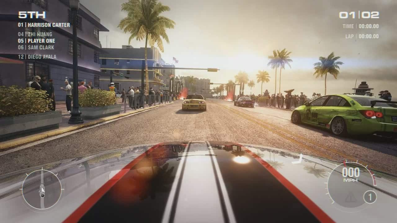 Grid 2 : un tour de circuit à Miami !