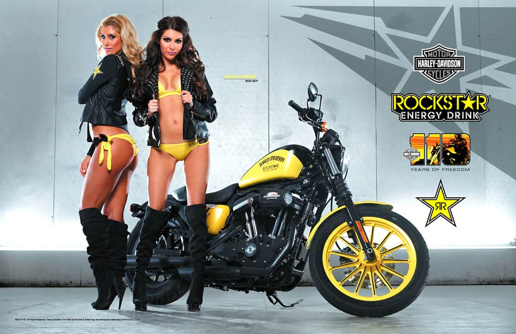 Harley Davidson Edition Limit 233 E Rockstar Energy