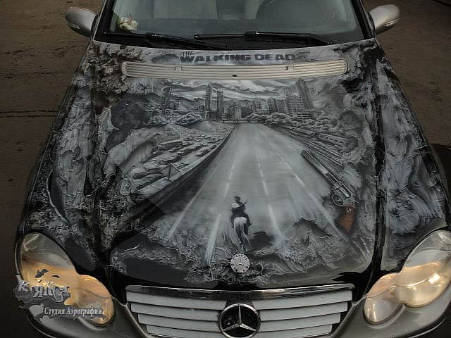 La Mercedes The Walking Dead