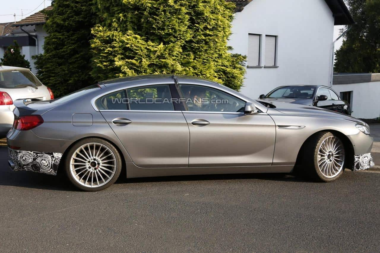 Spyshots : Alpina B6 Gran Coupé Bi-turbo 2014