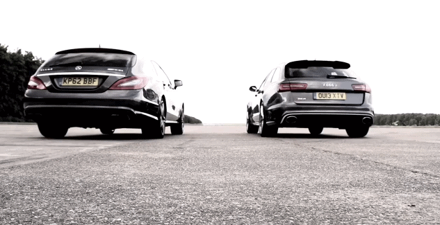 Chris Harris hésite entre l'Audi RS6 Avant et la CLS63 AMG Shooting Brake