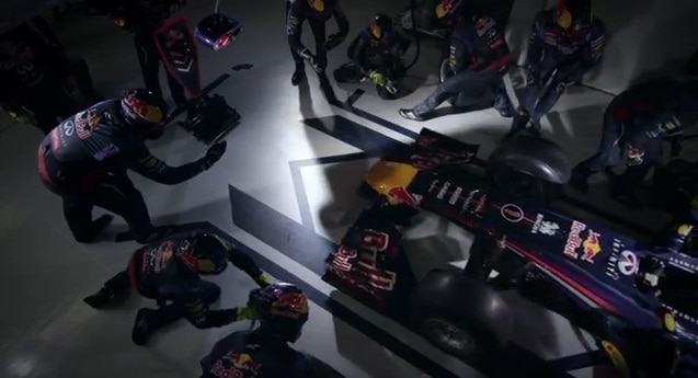L'art du Pit Stop en Slow-Motion
