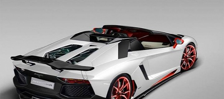 Preview : Lamborghini Aventador Roadster par LB Walk Performance