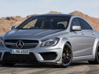 Rendu : Mercedes CLA 45 Black Series