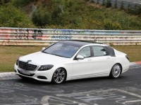 Spyshots : Mercedes Classe S version XL en essai