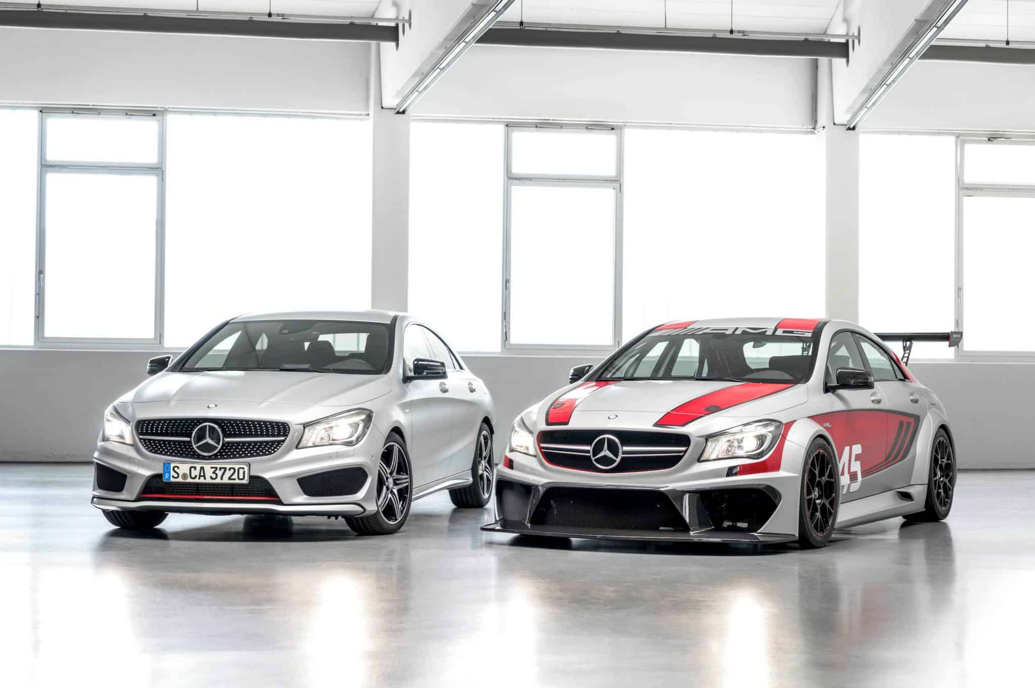 Mercedes CLA 45 AMG Racing Series débarque à Francfort