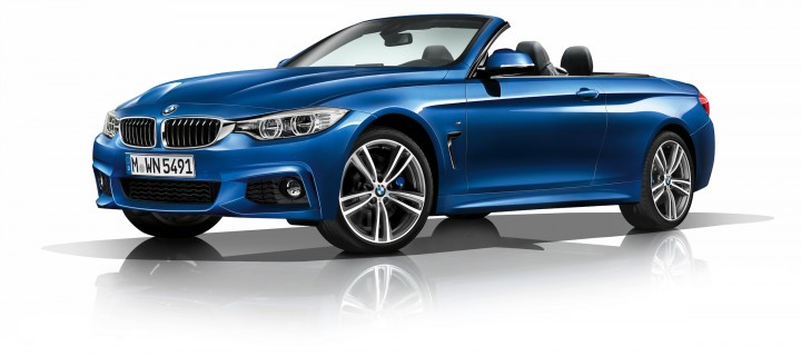 BMW Serie 4 : la version Cabriolet s'officialise