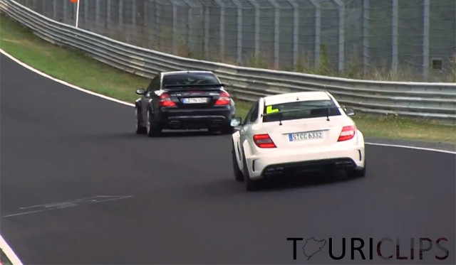 Black Series : Mercedes CLK63 AMG vs C63 AMG