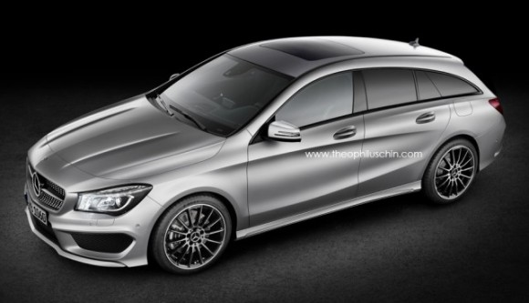 La Mercedes CLA Shooting Brake pour 2015 ?