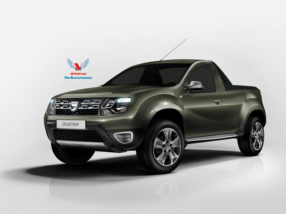 Virtuel-Car donne vie à un Dacia Duster Pick-up