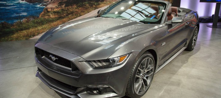 La Ford Mustang Cabriolet 2015 à New York