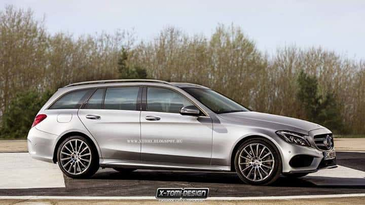 Rendu : la Mercedes Classe C Break de X-Tomi