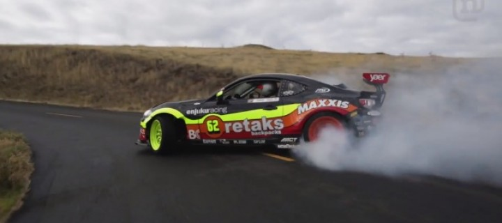 Ryan Tuerck réalise une session de drift incroyable