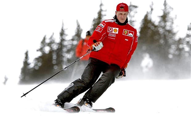 Michael Schumacher dans un état critique suite à un accident de ski