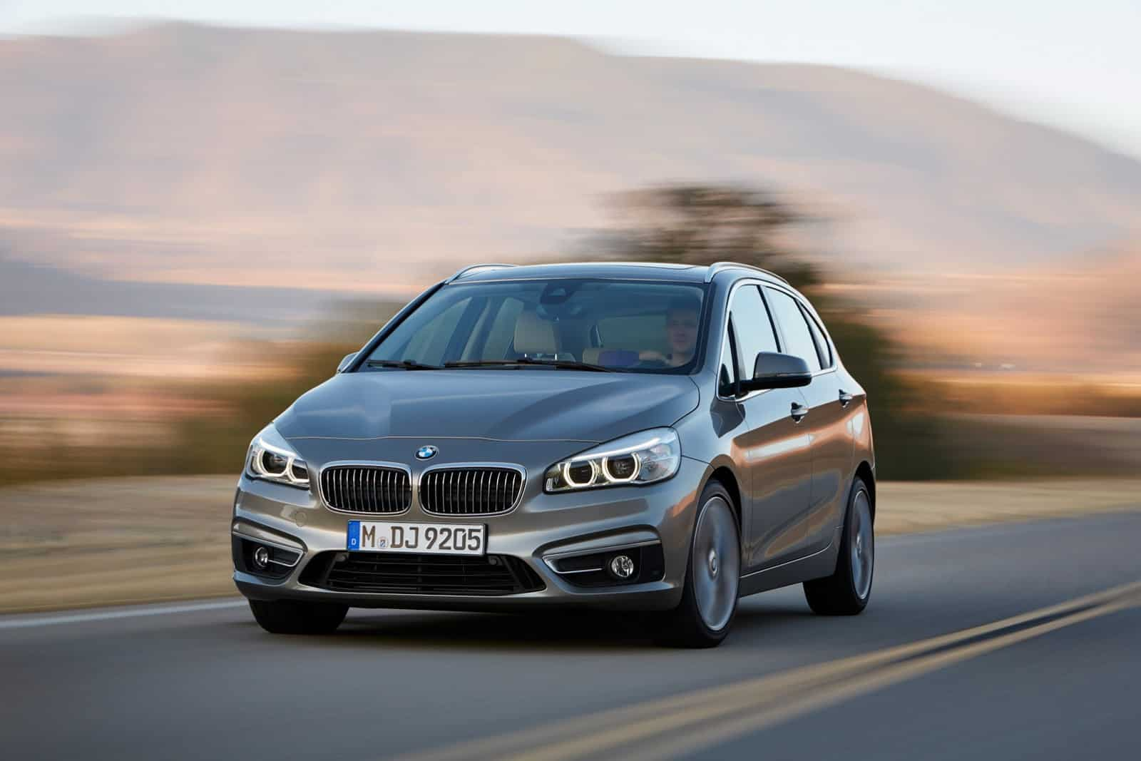 BMW Serie 2 Active Tourer : premier monospace à traction