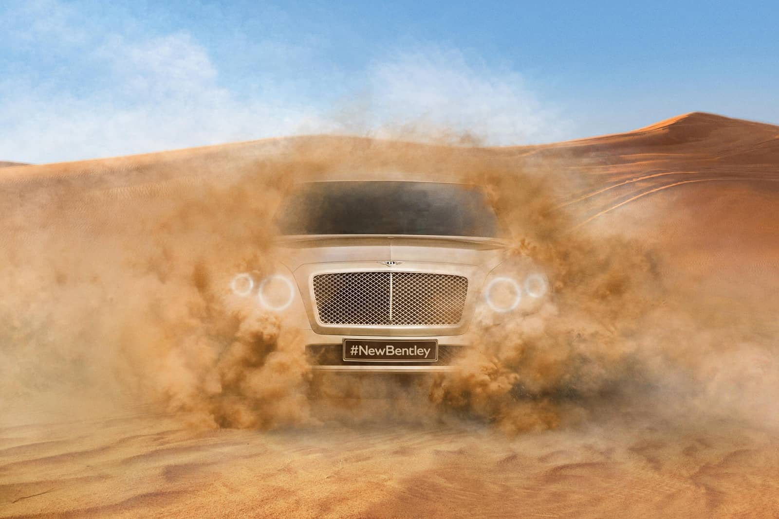 Bentley : la firme britannique tease son SUV