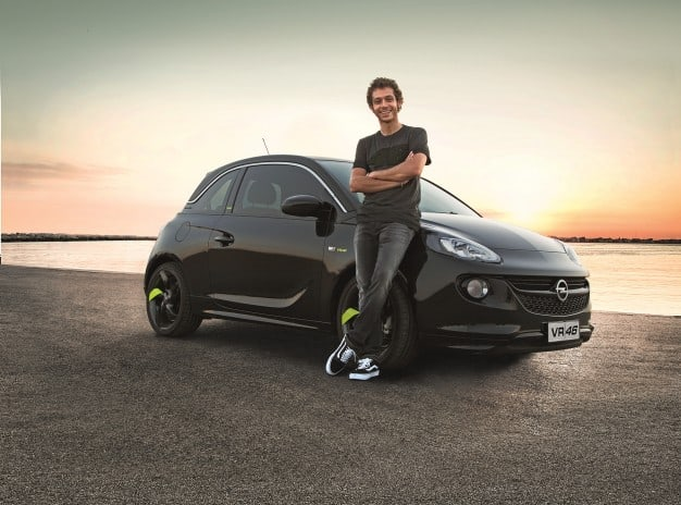 Opel Adam : VR46 – édition spéciale Valentino Rossi