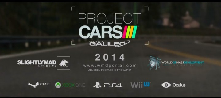 Project CARS : un jeu en ultra-HD, trailer en 1440p
