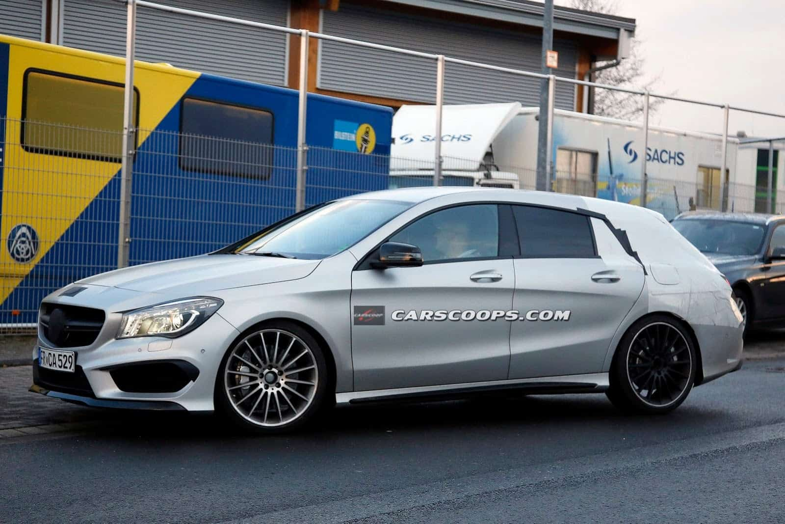 Spyshots : Mercedes CLA 45 AMG Shooting Brake