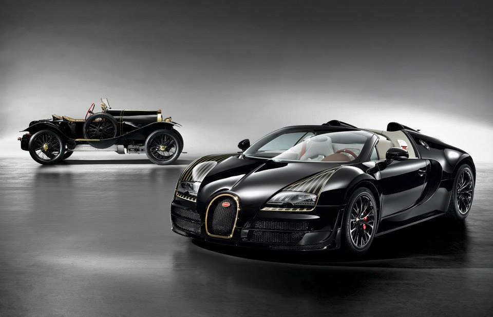 Pekin 2014 : Bugatti Veyron Legend Edition Black Bess