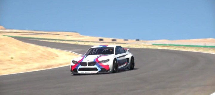 GT6 : la BMW Vision GT s'entraine à Willow Springs